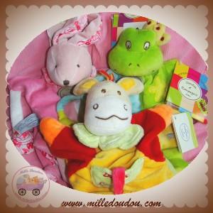 Des marionnettes Doudou et compagnie